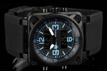 Infantry CubeDual blue pánske hodinky