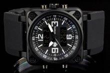 Infantry CubeDual white pánske hodinky