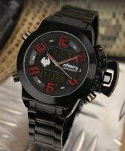 Infantry Chrono red/black pánske hodinky_1