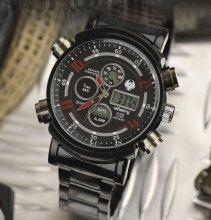 Infatry infinity red/ black pánske hodinky_1