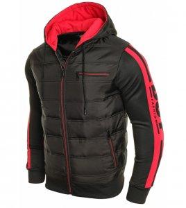 Prechodná zateplená bunda BADBOY red