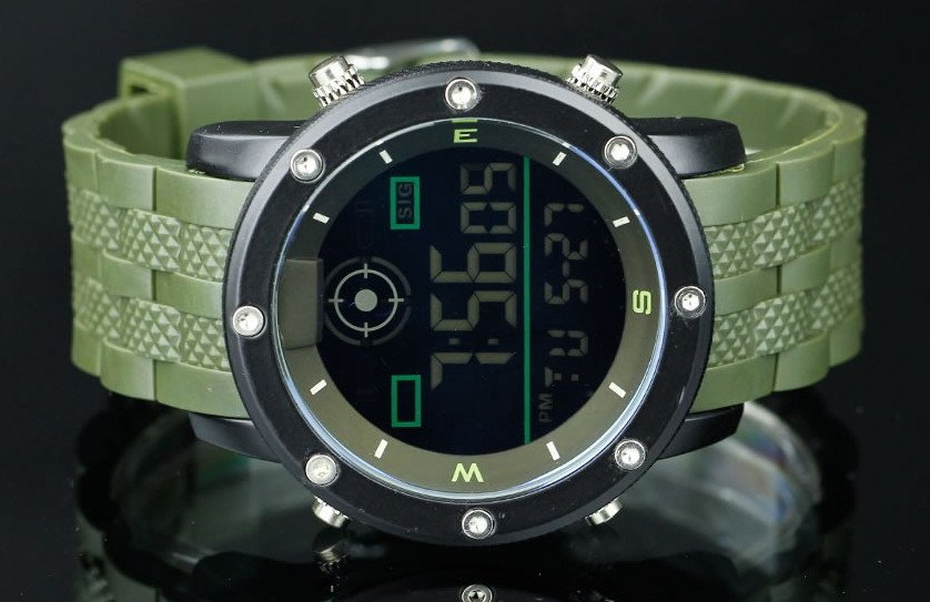 Pánske hodinky Digital style infantry black green 1c00b371d0c