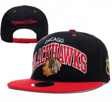 Šiltovka Blackhawks black/red