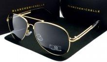 Pánske slnečné okuliare BM Luxury black/gold