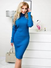 Dámske šaty Belive modré
