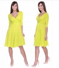 Dámske šaty JISS žlté