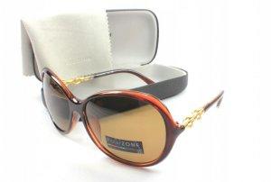 Dámske slnečné okuliare WRW brown + puzdro