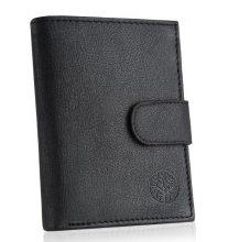 Pánska peňaženka BWK Tors čierna