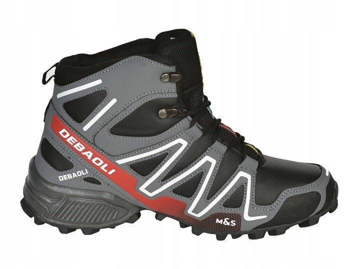 4a0c7f5c1 Pánske topánky MaS zimné, športové black/grey