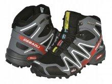 Pánske topánky MaS zimné, športové black/grey