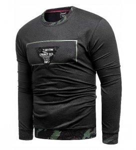 Pánske tričko BOSSARM čierne
