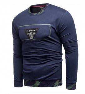 Pánske tričko BOSSARM modré