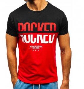 Pánske tričko SFNY red/black
