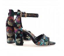 Dámska obuv sandále Espera čierne