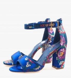 Dámska obuv sandále Espera modré
