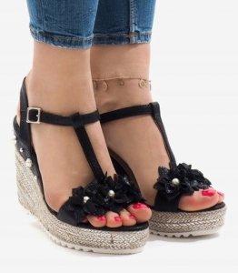 Dámska obuv sandále Moon čierne