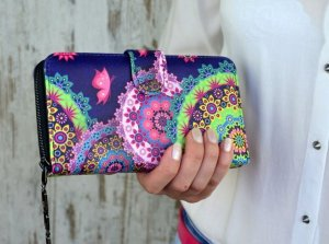 Dámska peňaženka Butterfly colors