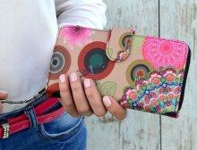 Dámska peňaženka Dragonfly colors