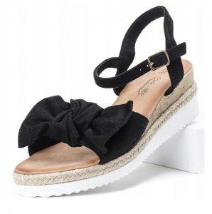 Dámske sandále Elisia čierne