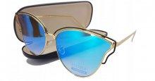 Dámske slnečné okuliare Birretiflow zlaté