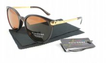 Dámske slnečné okuliare INF brown + puzdro