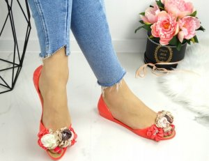 Neónové sandále Disee flower ružové
