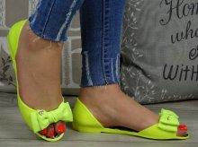 Neónové sandále Disee zelené