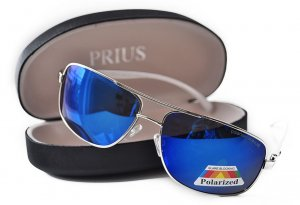 Pánske slnečné okuliare WINGS Drive silver + puzdro