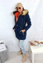 Dámska bunda Monna modrá