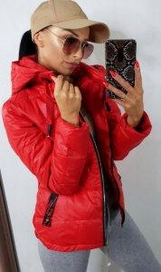 Dámska bunda Olias červená