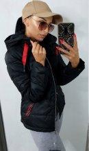 Dámska bunda Olias čierna