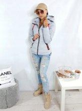 Dámska bunda Olias sivá
