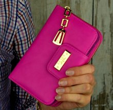 Dámska peňaženka DoubleZ ružová