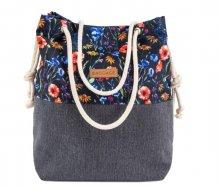 Kabelka Baggage Mak modrá