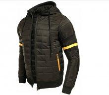 Pánska bunda Dybal black/yellow