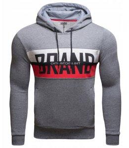 Pánska mikina DST Brand sivá