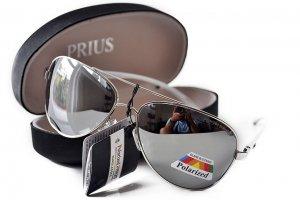 Pánske slnečné okuliare WINGS silver + puzdro