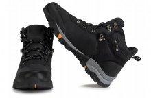 Pánske topánky Mountain Street čierne