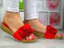 Dámske sandále Sanny red