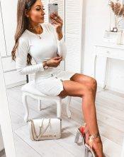 Dámske šaty Givero white