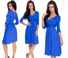 Dámske šaty Precedens modré
