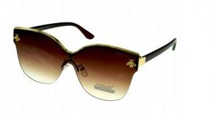 Dámske slenečné okuliare Bee gold