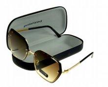 Dámske slnečné okuliare Excluse jantar/gold