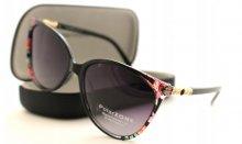 Dámske slnečné okuliare Giwesfloor black/gold a puzdro