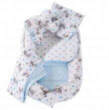 Hniezdo premium set 6v1 Cute Taddy blue