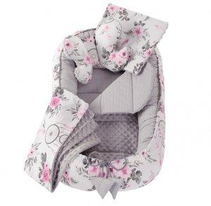 Hniezdo premium set 6v1 Flowers pink