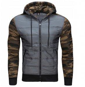 Pánska bunda Storm Camuflage sivá