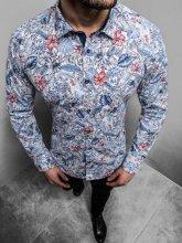 Pánska košeľa Monmare Flore modrá