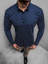Pánska košeľa Monmare Triple modrá