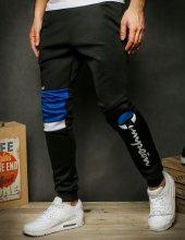 Pánske tepláky Gives Cappo black/blue